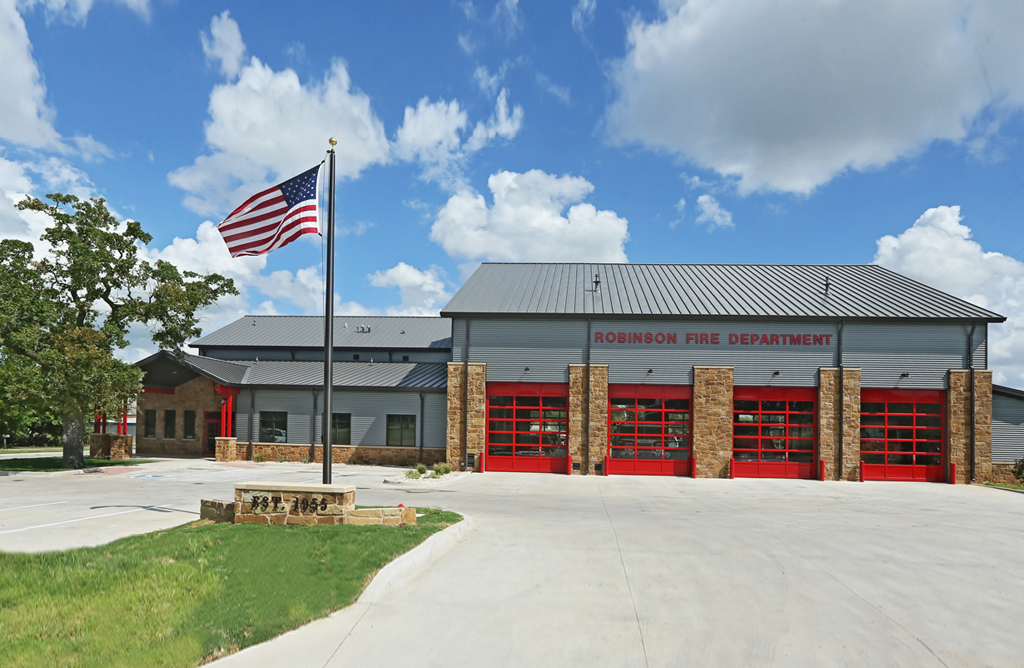 City Of Robinson Fire Station. Project Image Facade ...